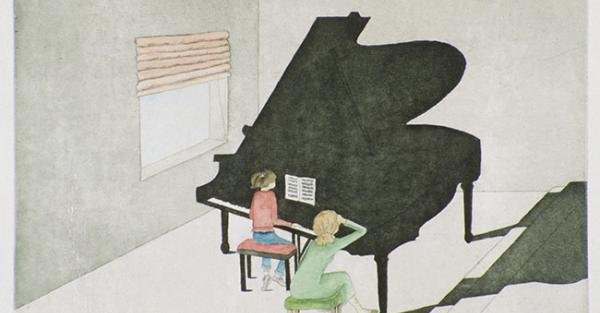 "Link to Work of the Week: ""Piano Lesson"" by Vivian Herman"