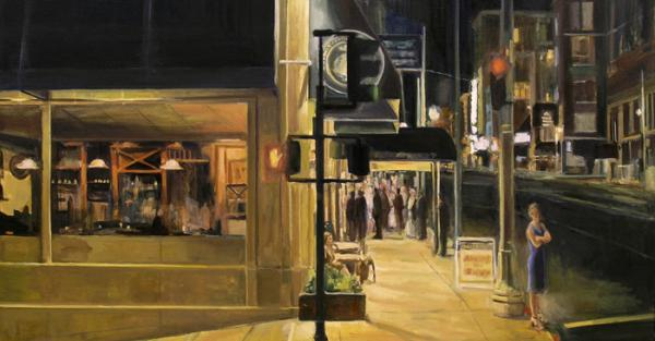 "Link to Work of the Week: ""After the Theatre"" by Raymond Theriault"
