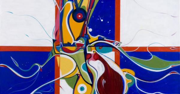 "Link to Work of the Week: ""Mind Over Matter"" by Alex Janvier"
