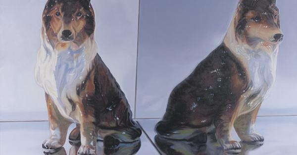 "Link to Work of the Week: ""Good Dog"" by Lori Lukasewich"