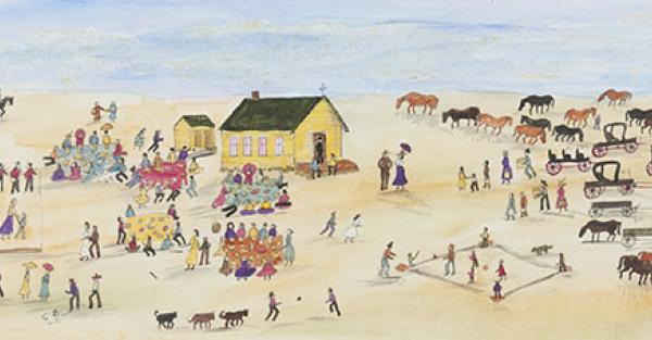 "Link to Work of the Week: ""Church Picnic"" by Irene McCaugherty"