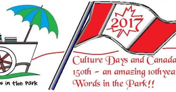 Link to Words in the Park - Pop up site for AB Culture Days