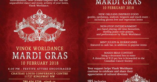 Link to Vinok Worldance presents Mardi Gras!