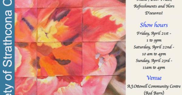 """Link to """"Spring Fling"""" Art Show and Sale"""