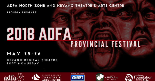 Link to 2018 ADFA Provincial One Act Theatre Festival