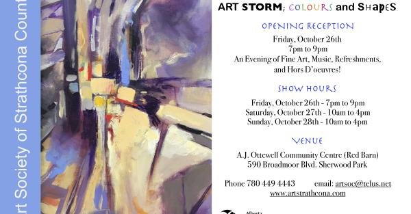 Link to Art Storm: Colors and Shapes, an exhibition and sale of Fine Art