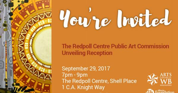 Link to The Redpoll Centre Public Art Commission Unveiling Reception