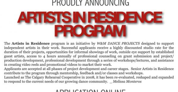 Link to W&M Dance Projects Artists in Residence