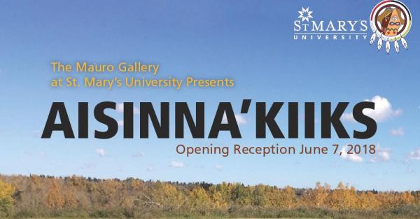 Link to Exhibition: Aisinnaa'kiiks