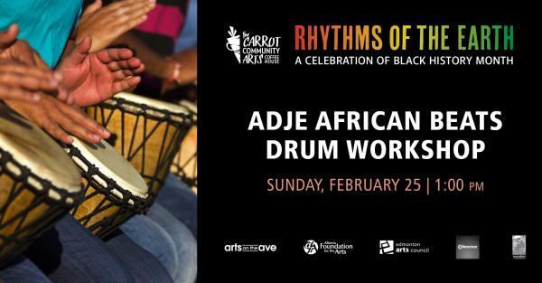 Link to Adje African Beats Drum Workshop