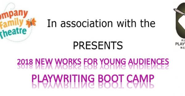 Link to Kompany Family Theatre's Playwriting for Young Audiences Weekend Boot Camp - Feb. 24 & 25, 2018
