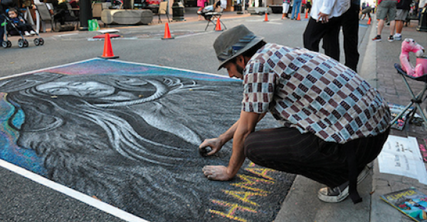 Link to Chalk Artists Wanted