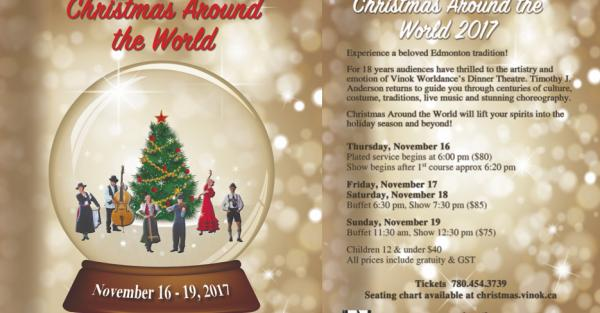 Link to Christmas Around the World Dinner Theatre