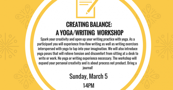 Link to Creating Balance: A Yoga/Writing Workshop