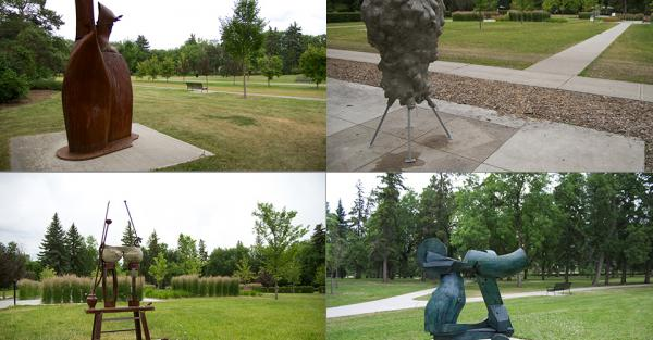 Link to Edmonton Arts Council Public Art Picnic in Borden Park