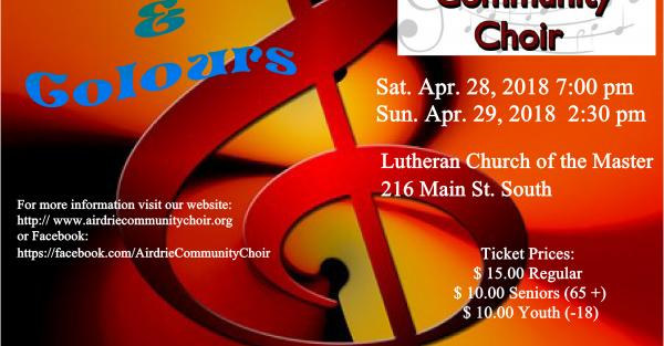 Link to Airdrie Community Choir Spring Concert Series