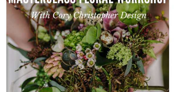 Link to Masterclass Floral Workshop with Cory Christopher Design