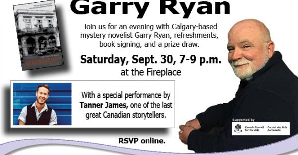 Link to APL Author Series: Mystery Novelist Garry Ryan