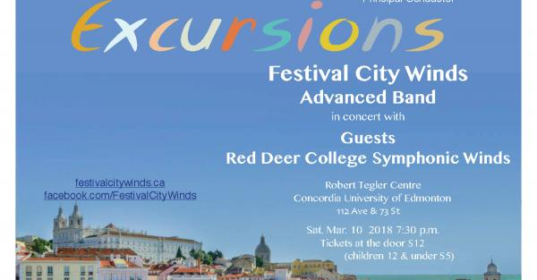Link to Latin Excursions - Festival City Winds Advanced Band & Guests
