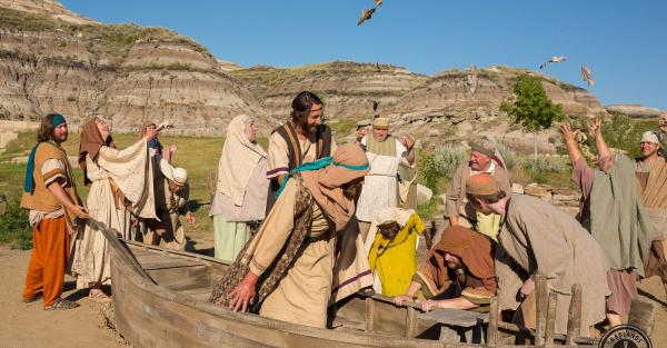 Link to (Job) Scenic Designer - Badlands Passion Play, Drumheller, AB