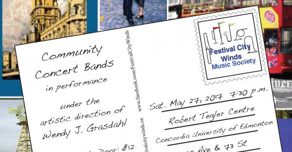 Link to Post Cards - Festival City Winds Concert