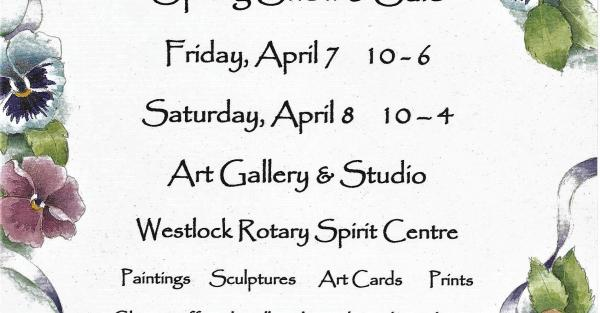 Link to Westlock Community Art Club Spring Show & Sale