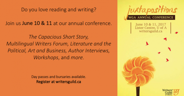 Link to Writers' Guild of Alberta Annual Conference