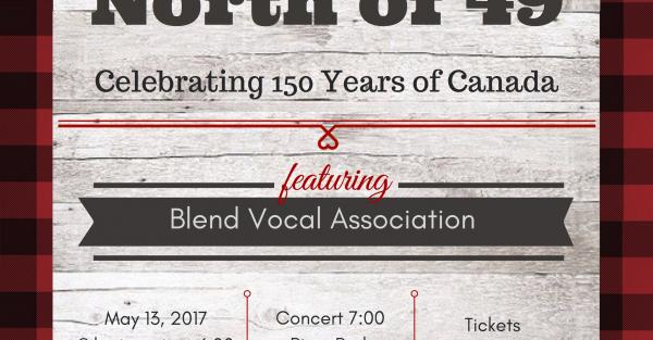 Link to BLEND Celebrates Canada - Saturday May 13th, Riverpark Church, Calgary