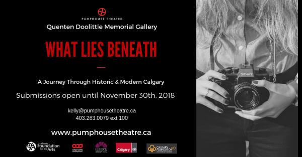 Link to Pumphouse Theatre Quenten Doolittle Memorial Gallery : Accepting Submissions for Winter 2019 Exhibit
