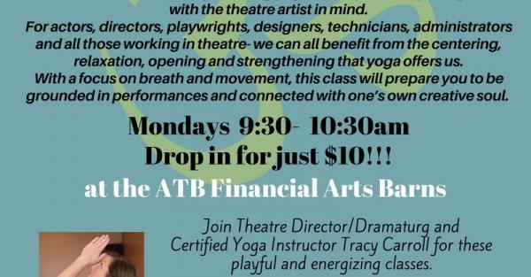 Link to Yoga for Theatre Artists