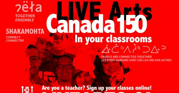 Link to LIVE Arts - free distance arts education