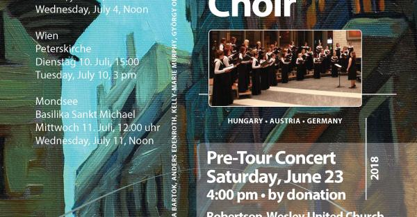 Link to The Cantilon Chamber Choir Pre-Tour Concert